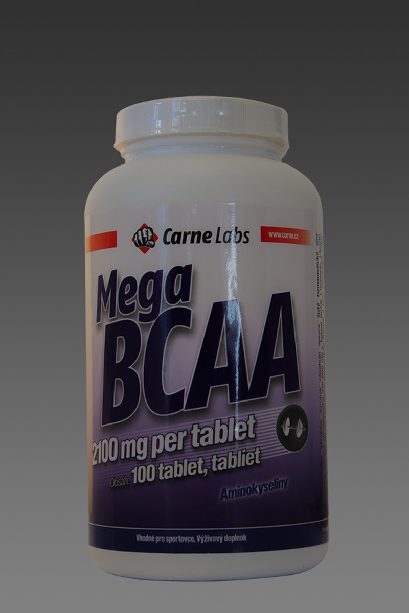 Mega BCAA 2:1:1 fermented micronized 100 tablet (1.tabs 2100mg)